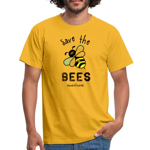Bees4-1 save the bees | Bookrebels - Men's T-Shirt