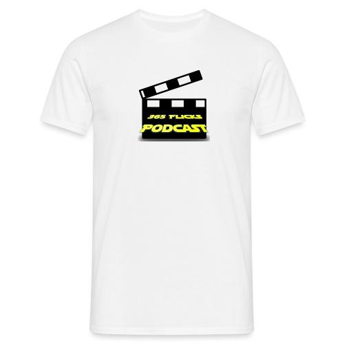 365 Flicks Podcast Logo jpg - Men's T-Shirt