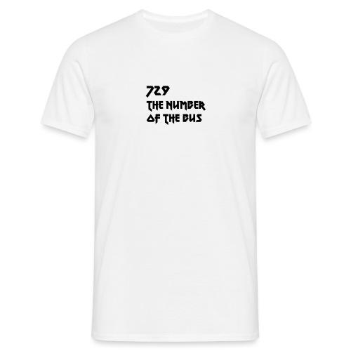 729 nero - Maglietta da uomo