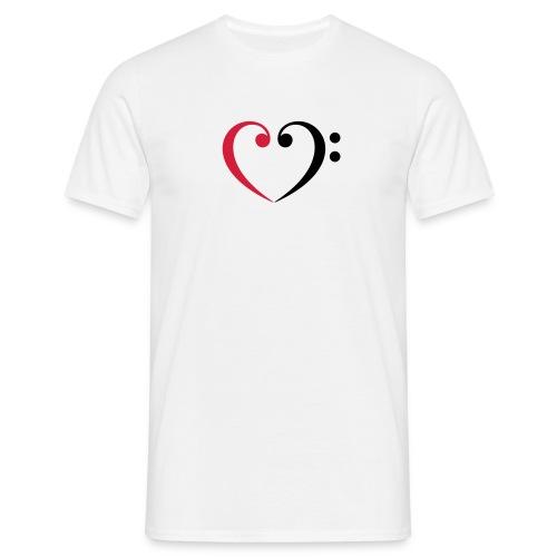 br lb heart - Männer T-Shirt