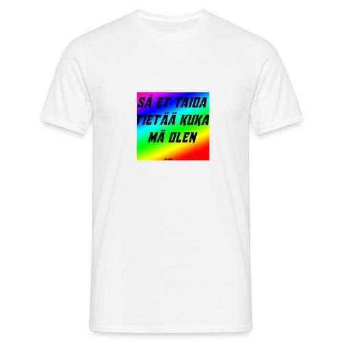 kuka olen - Miesten t-paita