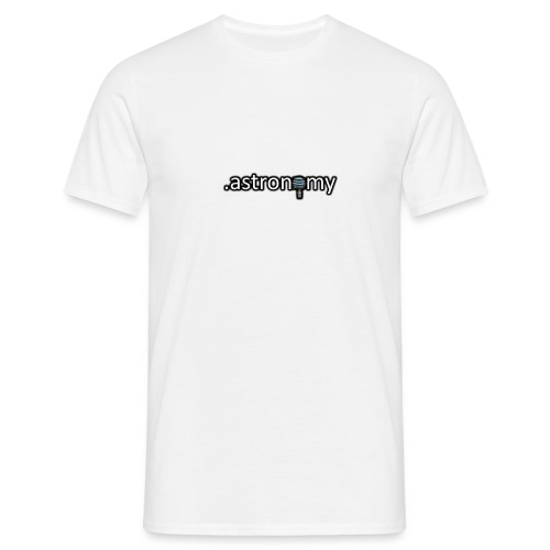 Astronomy Logo - Men's T-Shirt