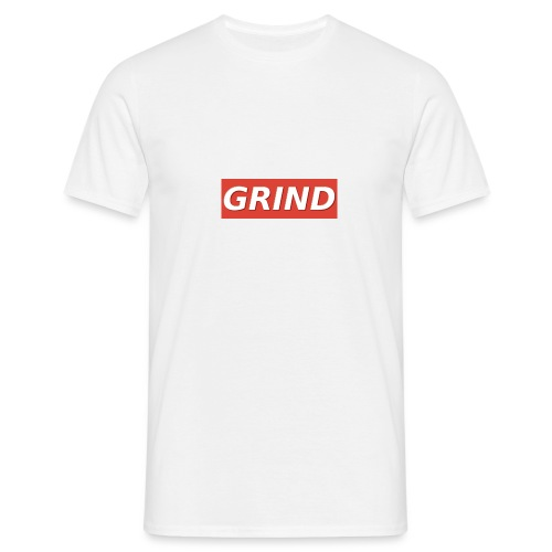 GRIND BOXED LOGO - Mannen T-shirt