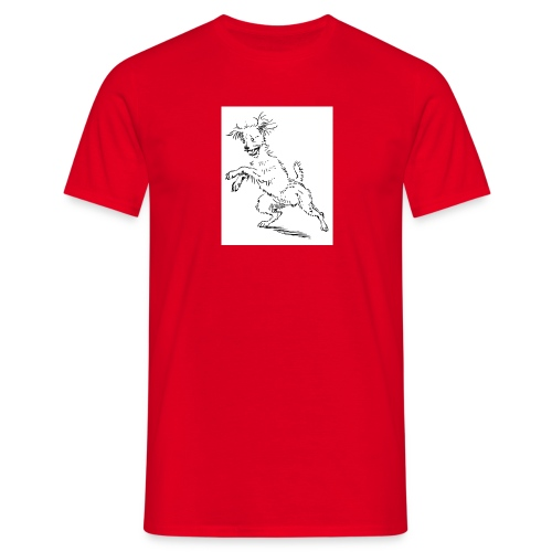 woof - Men's T-Shirt
