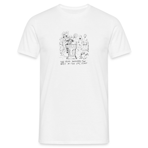 babyfonttoupload - Men's T-Shirt