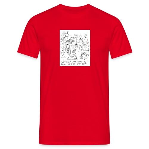 babyfonttoupload - Men's T-Shirt