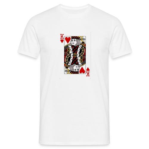 Kuningas - Miesten t-paita