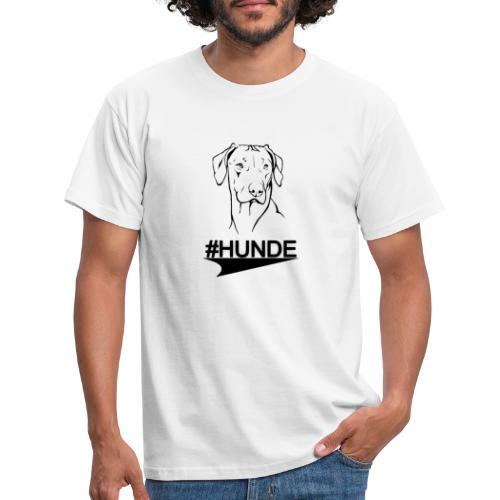 Rhodesian Ridgeback #HUNDE T-Shirt | (4b88945) - Männer T-Shirt