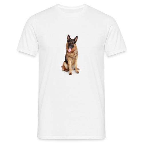bonito diseño de perro - Camiseta hombre