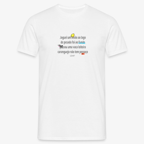 Versinho de infancia - Men's T-Shirt