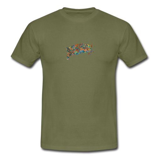 Time for a lucky jump - Men's T-Shirt