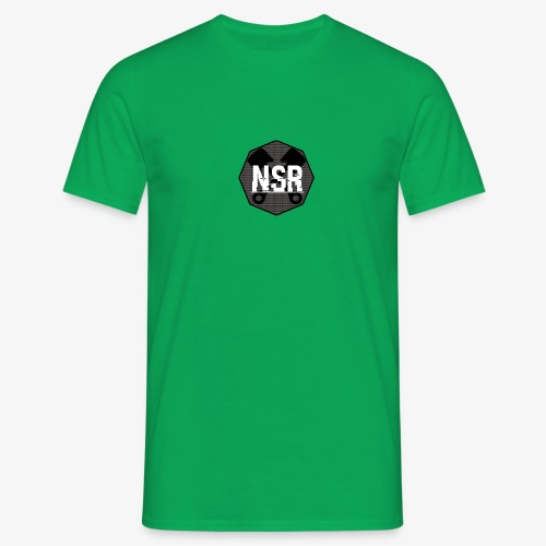 NSR B/W - Miesten t-paita