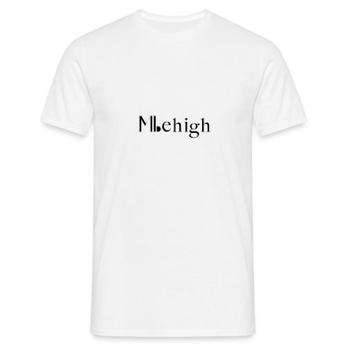 Milehigh Rags Logo Black - T-skjorte for menn