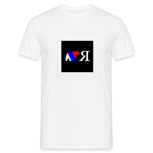 LOGO OSO RL NEGRO - Camiseta hombre