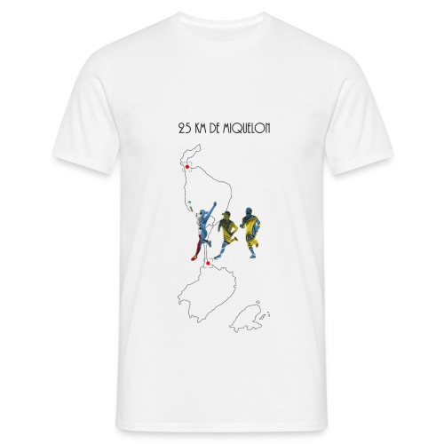 25 km de Miquelon - T-shirt Homme