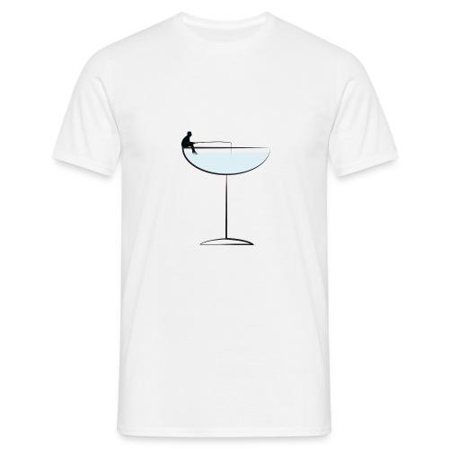 Fishing man png - Men's T-Shirt