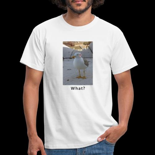 Gull with Ears - Men's T-Shirt