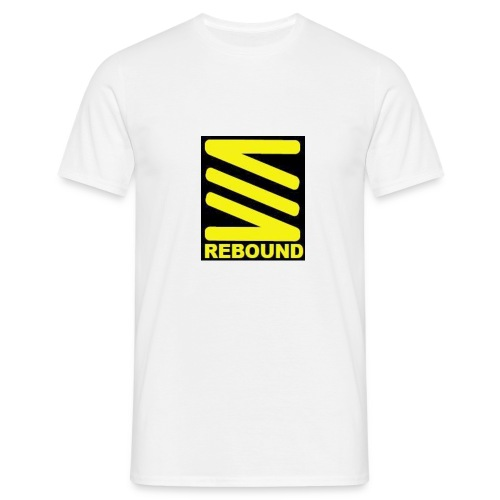 rebound logo - Men's T-Shirt