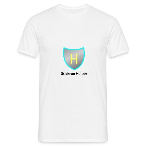 stickrunhelper1 - Männer T-Shirt