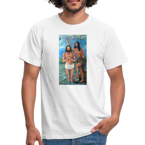 Bautismo de Jesús - Camiseta hombre