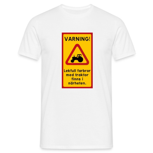 Varning - T-shirt herr