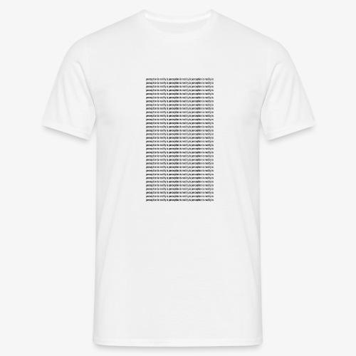 perception - Koszulka męska
