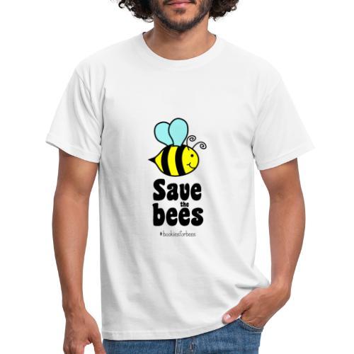 Bees9-1 save the bees | Bienen Blumen Schützen - Men's T-Shirt