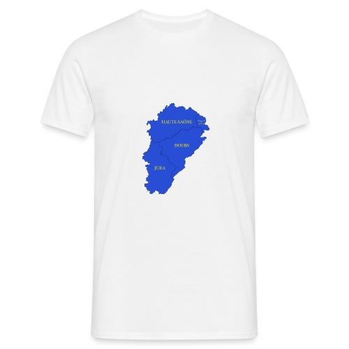 Franche-Comté + départements - T-shirt Homme