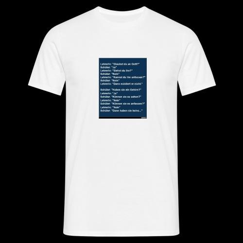witze - Männer T-Shirt