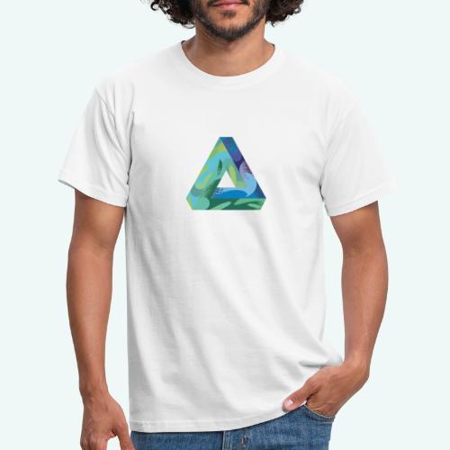 psychedlic triangle - Männer T-Shirt