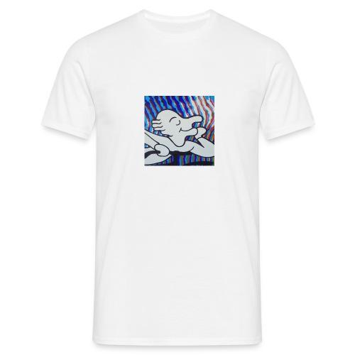 Albert Hofmann blotterface - Männer T-Shirt