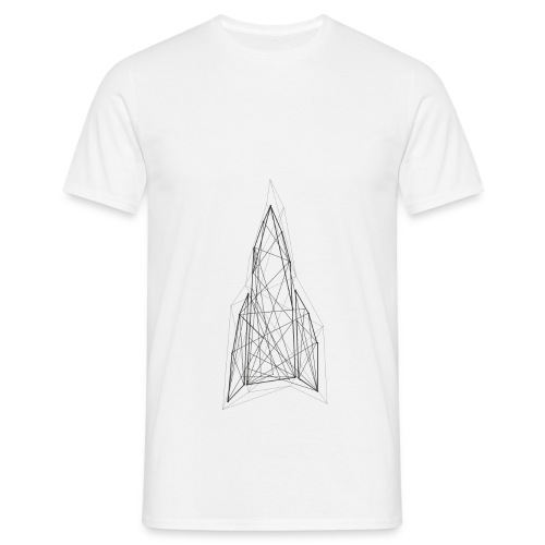 black thick - Männer T-Shirt