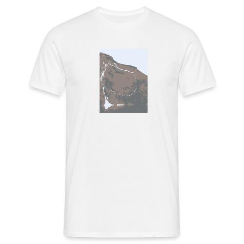 aknesbildet - T-skjorte for menn