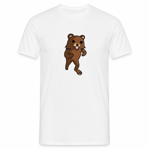 Tanssiva nalle - Miesten t-paita