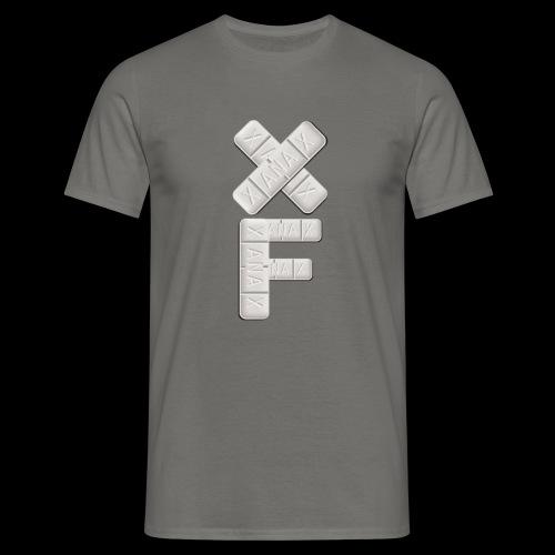 XF Xanax Logo - Männer T-Shirt