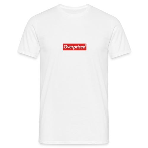 overpiced - Men's T-Shirt