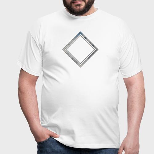 Cloud Square - Männer T-Shirt
