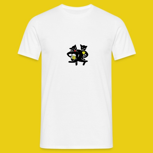 katzenshirt - Männer T-Shirt