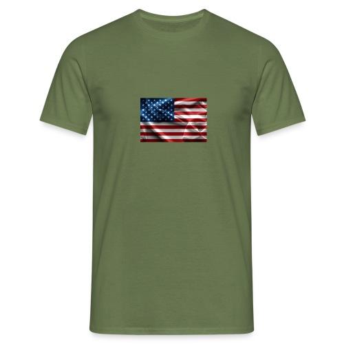 amerikaanse vlag - Mannen T-shirt