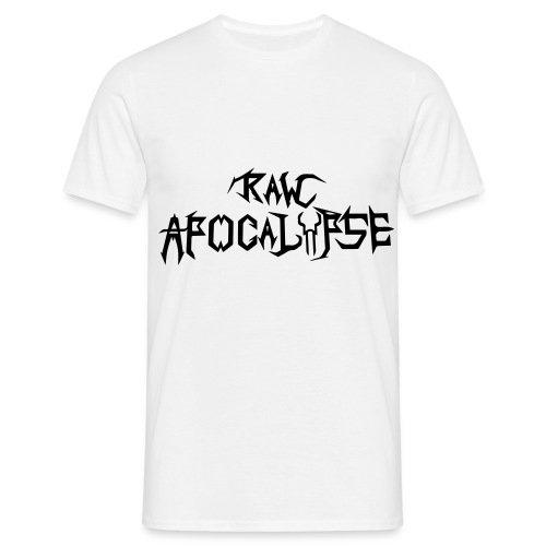 Raw Apocalypse Official Logo - Maglietta da uomo