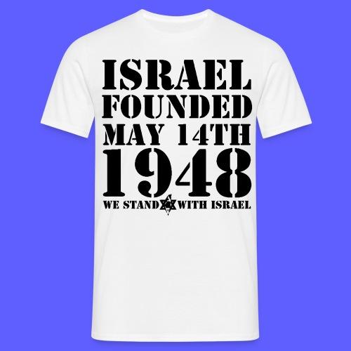 israelfoundetstand - Männer T-Shirt