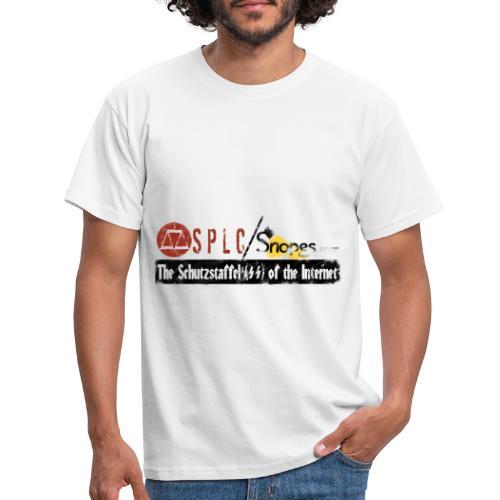 SPLC and SNOPES Schutzstaffel OF THE INTERNET - Men's T-Shirt