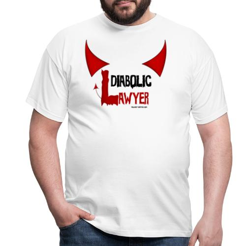 Diabolic lawyer - T-shirt Homme