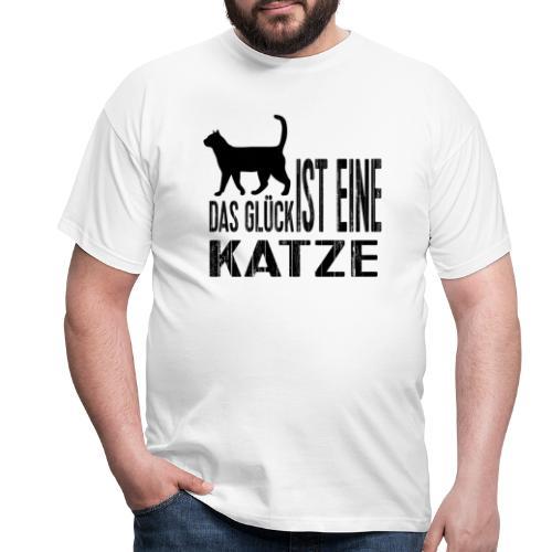 Katze Katzenliebe Cat Katzenglück Geschenkidee - Männer T-Shirt