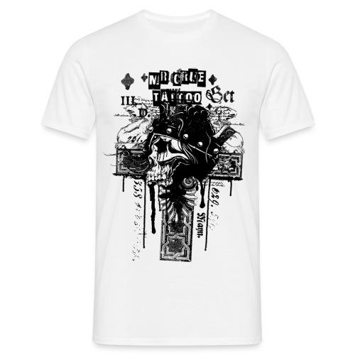 Mr Crue Skull1 - T-shirt herr