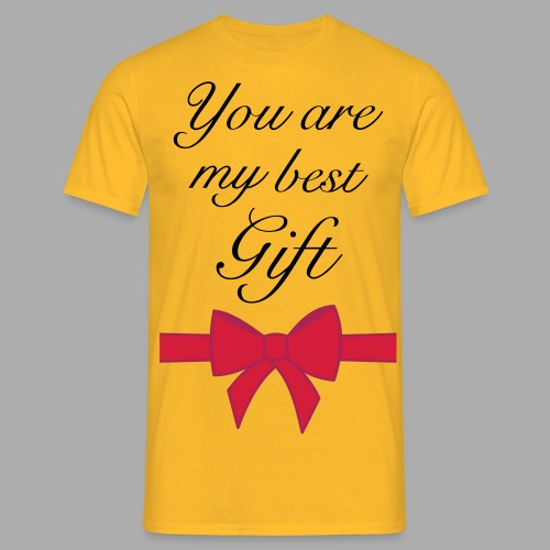 you are my best gift - Men's T-Shirt