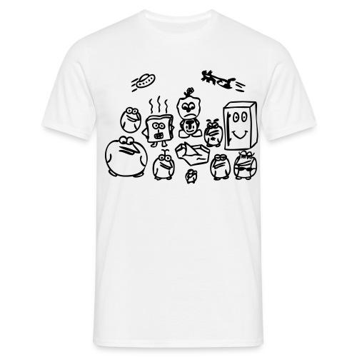 Gruppe - Männer T-Shirt