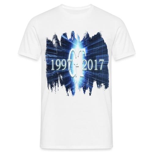 GuttaTur 20 years - T-skjorte for menn