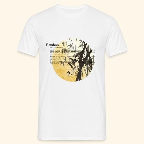 Bamboo - T-shirt herr