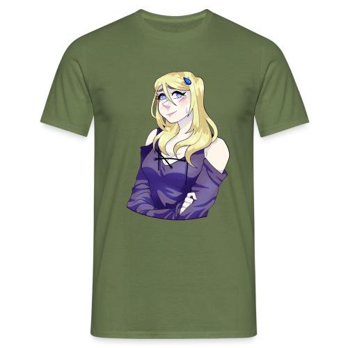 Sad-chan v2 Arms Crossed - Men's T-Shirt
